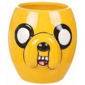 Adventure Time Jake 3D-mugg