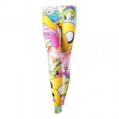 Adventure Time Ooo Leggings