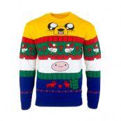 Jultröja Adventure Time Finn & Jake, XL