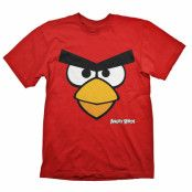 Angry Birds T-Shirt Angry Bird Röd