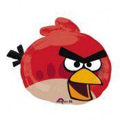 Folieballong Angry Bird Röd