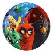 Pappersassietter Angry Birds Movie - 8-pack