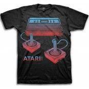 Atari Duotone Control T-Shirt, Basic Tee