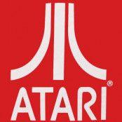 Röd Atari T-Shirt