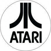 Atari sticker., Sticker