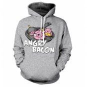 Angry Bacon Hoodie, Hooded Pullover