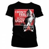 Arkham - Don´t Feel Comfortable Girly Tee, Girly T-Shirt