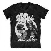 Arrrgh - Wrong Number V-Neck Tee, V-Neck T-Shirt