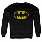 Batman Distressed Logo Sweatshirt, Sweatshirt