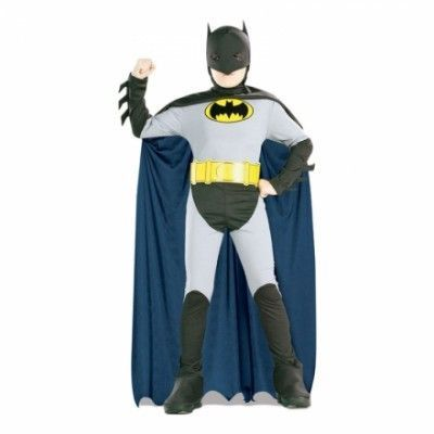 Batman Barn Maskeraddräkt