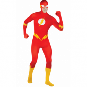 The Flash Second Skin Maskeraddräkt