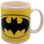 Batman - Logo on Yellow Mug