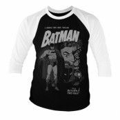 Batman - Return Of Two-Face Baseball 3/4 Sleeve Tee, Baseball 3/4 Sleeve Tee