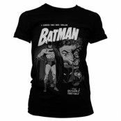 Batman - Return Of Two-Face Girly Tee, Girly Tee