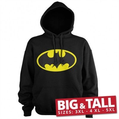Batman Signal Logo Big & Tall Hoodie, Big & Tall Hoodie