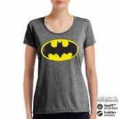 Batman Signal Performance Girly Tee, CORE PERFORMANCE GIRLY TEE