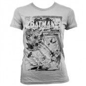 Batman - Umbrella Army Distressed Girly T-Shirt, Girly T-Shirt