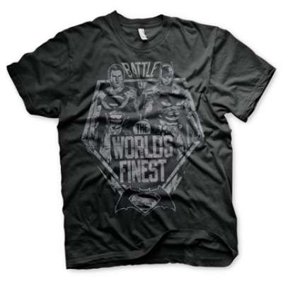 Battle Of The Worlds Finest T-Shirt, Basic Tee