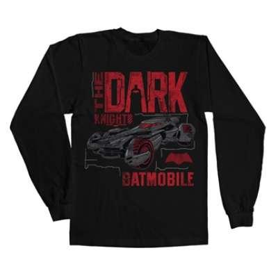 Dark Knight Batmobile Long Sleeve Tee, Long Sleeve Tee
