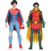 DC Comics Icons - Robin & Superboy 2-Pack