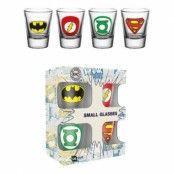 DC Comics Logo Shotglas