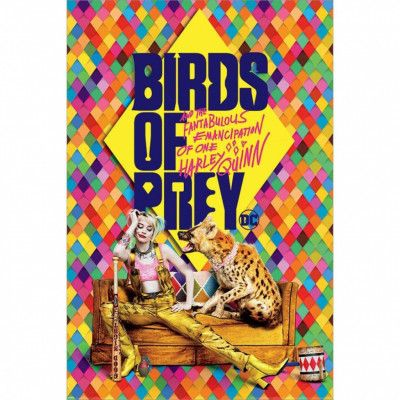 Birds of Prey, Maxi Poster - Harleys Hyena
