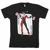 Harley Quinn Card Games T-Shirt, Basic Tee