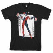 Harley Quinn Card Games T-Shirt, T-Shirt