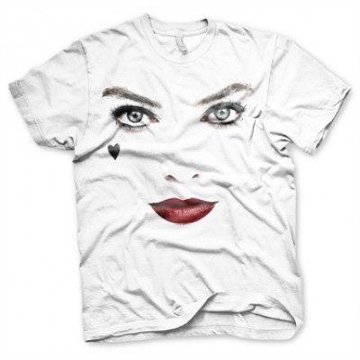 Harley Quinn Face-Up T-Shirt, Basic Tee