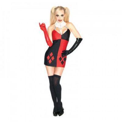 Harley Quinn Maskeraddräkt - X-Small