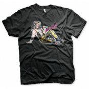 Harley Quinn Roller Skates T-Shirt, Basic Tee