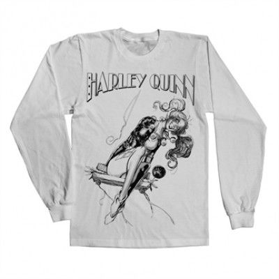 Harley Quinn Sways Long Sleeve Tee, Long Sleeve Tee