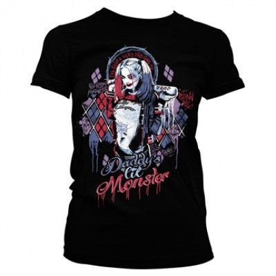Suicide Squad Harley Quinn Girly Tee, Girly Tee