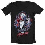 Suicide Squad Harley Quinn Wide Neck Tee, Wide Neck Tee
