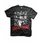 Suicide Squad - Svart Unisex T-shirt
