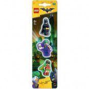 LEGO Batman - Mini-Erasers 3-Pack