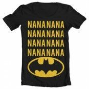 NaNa Batman Wide Neck Tee, Wide Neck T-Shirt