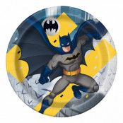 Papperstallrikar Batman - 8-pack