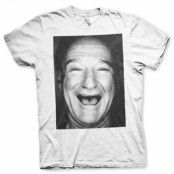 Robin Williams Face Up T-Shirt, Basic Tee