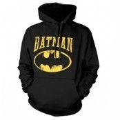 Vintage Batman Hoodie, Hooded Pullover