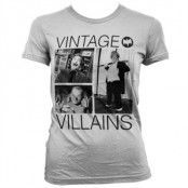 Vintage Villains Girly T-Shirt, Girly T-Shirt
