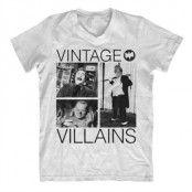 Vintage Villains V-Neck T-Shirt, V-Neck T-Shirt