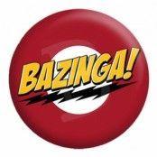 Bazinga Logo Knapp