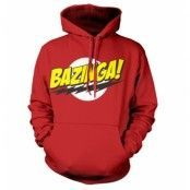 Bazinga Super Logo Hoodie, Hooded Pullover