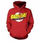 Bazinga Super Logo Hoodie, Hooded Pullover