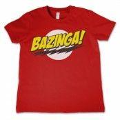 Bazinga Super Logo Kids T-Shirt, Kids T-Shirt