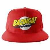 Bazinga Super Logo Snapback Cap, Adjustable Snapback Cap