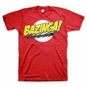 Bazinga Super Logo T-Shirt, Basic Tee