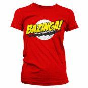 Bazinga Super Logo Tjejtröja, LARGE