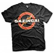 Bazinga Underground Logo T-Shirt, Basic Tee